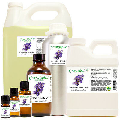 Lavender 40-42 Essential Oil 100% Pure Many Sizes Free Shipping