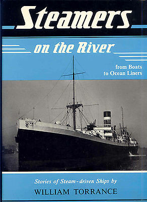 Steamers On the River from Boats to Ocean Liners by William Torrance