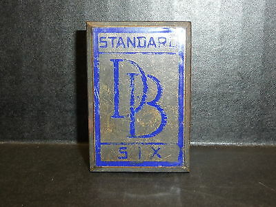 Vintage Dodge Brothers Standard Six Emblem Badge