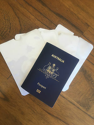 RFID Blocking Sleeve - Passport Protector. Protection Sleeve - Located Melbourne