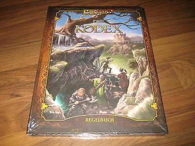 Midgard 5te Edition Der Kodex Regelbuch Hardcover Pegasus Press 2013 Neu OVP