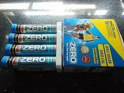 new! HIGH5 Zero 8 tubes X 20 = 160 tablets Hydration Tropical Drink Tablet HIGH5