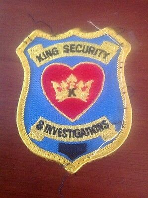 King Security & Investigations Patches