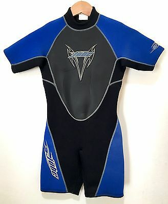 JOBE Youth Size 12 Spring Wetsuit Shorty Boys Kids Juniors Blue