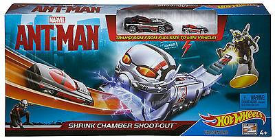 Hot Wheels Marvel Ant Man Shrink Chamber Shoot Out Playset *brand New & Sealed*