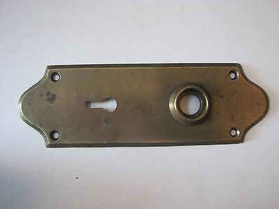 High Quality Solid Brass Antique Backplate for Antique Door Knobs
