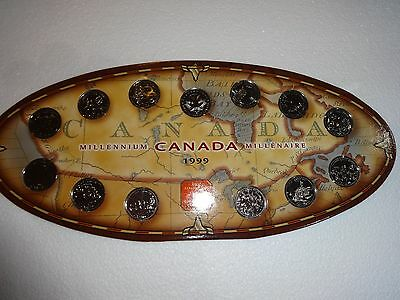 Royal Canadian Mint Millennium Canada 1999 13 Piece Set
