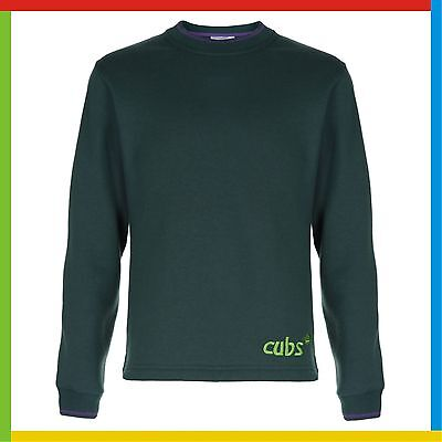 CUBS SWEATSHIRT: Official supplier *NEW STYLE*: All Sizes - BRAND NEW Cubs Top