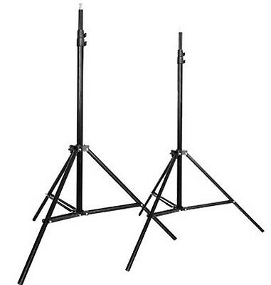 CowboyStudio Set of Two 7 feet Photography Light Stands with Cases 2X803