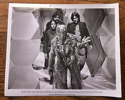 Battlestar Galactica 1978 Press Photo Jane Seymour, Richard Hatch, Ovion