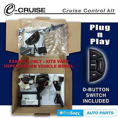 Cruise Control Kit Landcruiser 70 Series V8 4.5Tdi With A/Bag 2007+ (With D-Shap