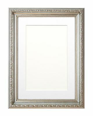 Ornate  Picture frame photo frame poster frame /bespoke Mount Gunmetal silver