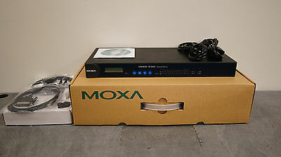 Moxa Cn2650-16-2Ac 16-Port Rs-232/422/485 Terminal Server W/ Lan Redundancy