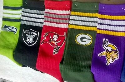 NFL Jersey Colours Team Logo Men's Socks