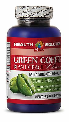 Weight Loss Pills - Body Cleanse - GREEN COFFEE EXTRACT CLEANSE 1 Bottle