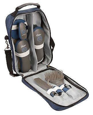 Oster Equine Care Series 7-Piece Grooming Kit Blue 7 Piece Oster