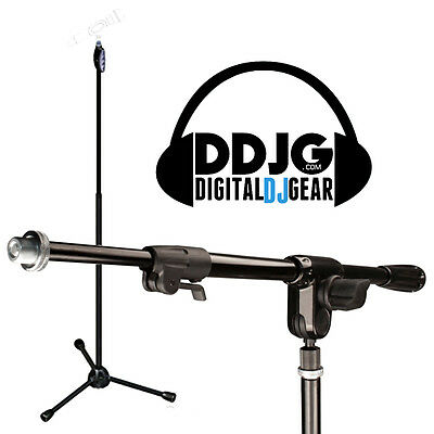 Ultimate Support Live T Microphone Stand with Ultiboom 3-way Mic Boom