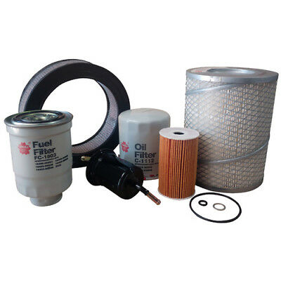 Filter Service Kit AIR OIL FUEL TOYOTA LANDCRUISER HZJ105 4.2L 1HZ 98-02 FSK143