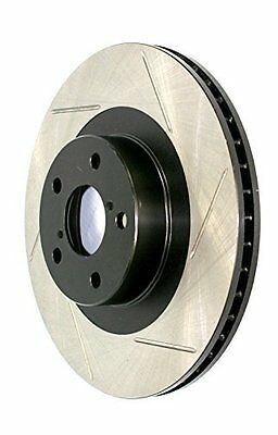 StopTech 126.58010SL Left Slotted Sport Brake Rotor, Front