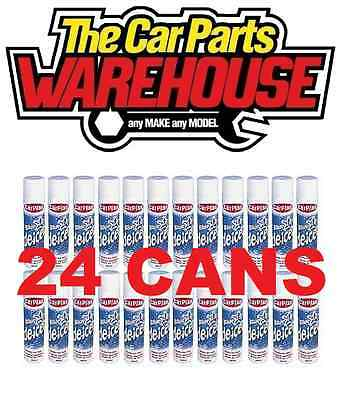 Carplan de-icer deicer Aerosol 300ml 24 cans ?? Melts windscreen ice fast ??