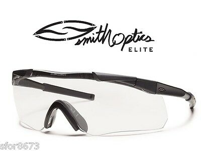 Smith Optics Elite Aegis Arc Ballistic Eyeshield Glasses Field 2-Lens Kit