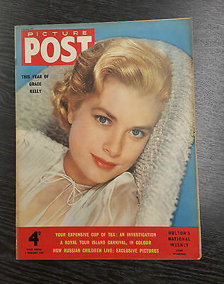 Picture Post Magazine: 5th February 1955 Grace Kelly