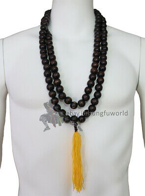 Shaolin Buddhist Monk Beads Necklace to match Robes Kung fu Uniforms