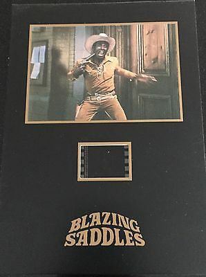 Blazing Saddles Collectible Senitype Film Cell