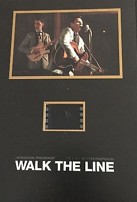 Walk The Line Collectible Senitype Film Cell