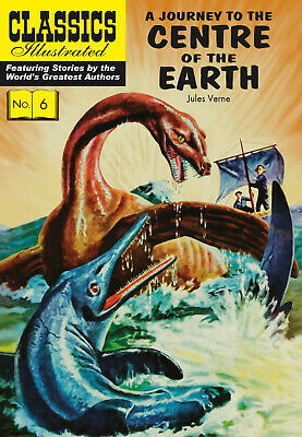 Classics Illustrated A Journey to the Centre of the Earth - Modern # 26 (Verne)