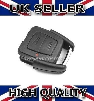 Vauxhall Opel Astra G Zafira H - 2 Button Remote Key Fob Case Shell + Gasket