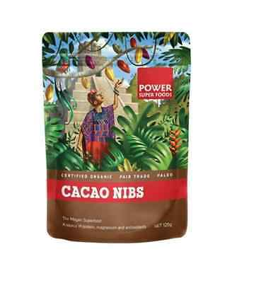 POWER SUPER FOODS Cacao Power Nibs 125g