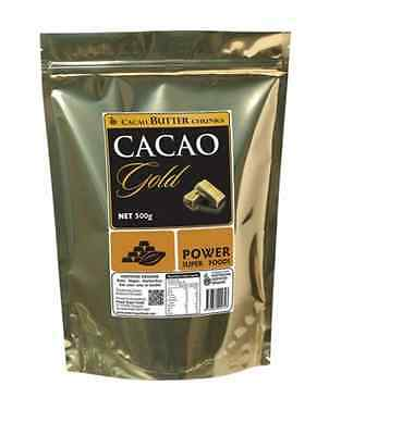 POWER SUPER FOODS Cacao Butter Chunks - 500g