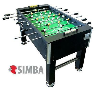 Soccer Table Football Foosball Black Poles  Home boys adults 60 kg solid strong