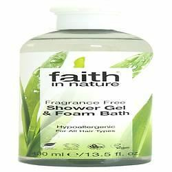 Faith in Nature Fragrance Free Shower Gel/FB 400 ML