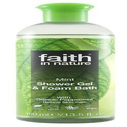 Faith in Nature Mint Shower Gel/Foam Bath 400 ML