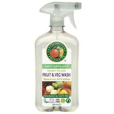 Earth Friendly Products Fruit & Vegetable Wash 500 ML
