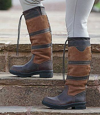 SHIRES CHARLBURY LONG BOOTS SIZE 6 Regular width