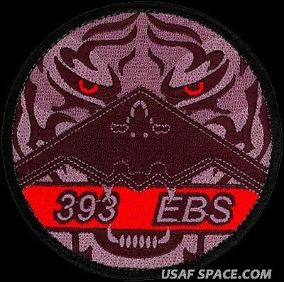 USAF 393rd EXPEDITIONARY BOMB SQUADRON – B-2 – TIGER - ORIGINAL AIR FORCE PATCH