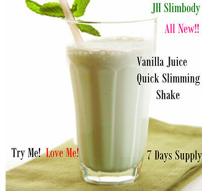 Complete Slim Plan*Lose up to 7 lbs in 7 Days- Slimming Plus Vanilla Juice Shake