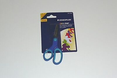 Staedtler Noris Club 14cm Left Hand Childrens Scissors Ref 965 14LNBK