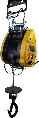 LiftinGear Electric Wire Rope Lifting Hoist, 500KG WLL, 110v, 40mtr Lift