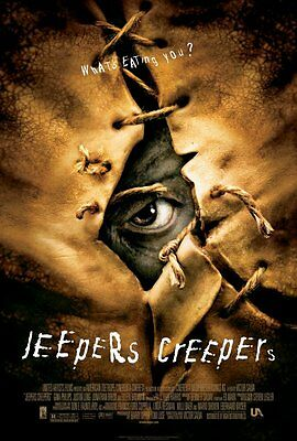 """JEEPERS CREEPERS Movie Poster [Licensed-NEW-USA] 27x40"""" Theater Size Justin Long"""