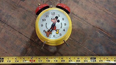 Mickey Mouse Alarm Clock by Bradley Made in Germany