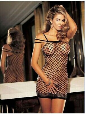 Sexy Bodystocking Lingerie Intimo Donna  Tuta A Rete Catsuit No Body C String