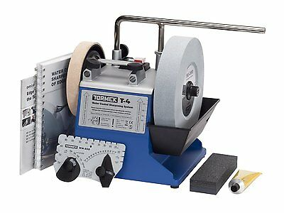 Tormek T4 Water Cooled Precision Sharpening System w/ 8'' Stone