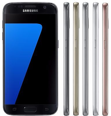 Samsung Galaxy S7 SM-G930F (FACTORY UNLOCKED) 32GB Black Silver Gold Pink White