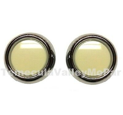 Console & Courtesy Lamp Lens & Bezel Set for 1960-1965 Plymouth & Dodge B-Body