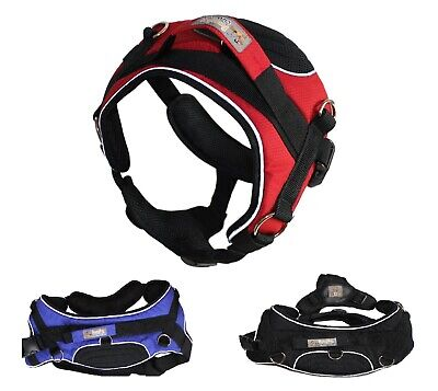 MEDIUM & LARGE Big Dog Vest REFLECTIVE Harness Collar PADDED With HANDLE Durable