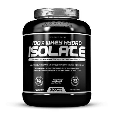 100% Whey Hydro Isolate SS 2000 g - Xcore - Hydrolyzed protein